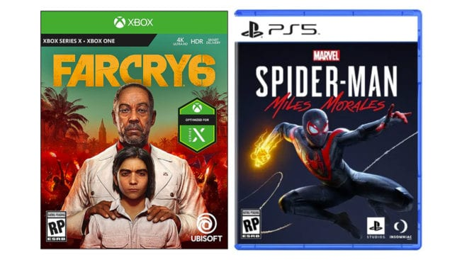 PS5 & Xbox Series X Cover Art