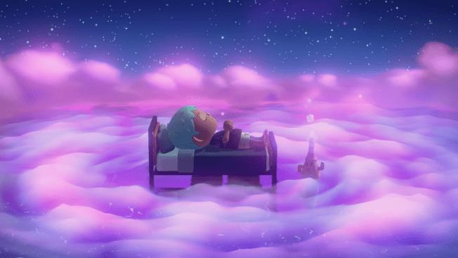 Animal Crossing New Horizons Update Träumen Feuerwerk