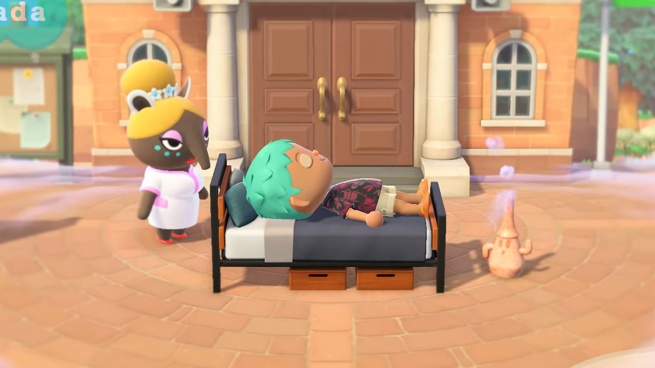 Animal Crossing New Horizons Serenada Träumen