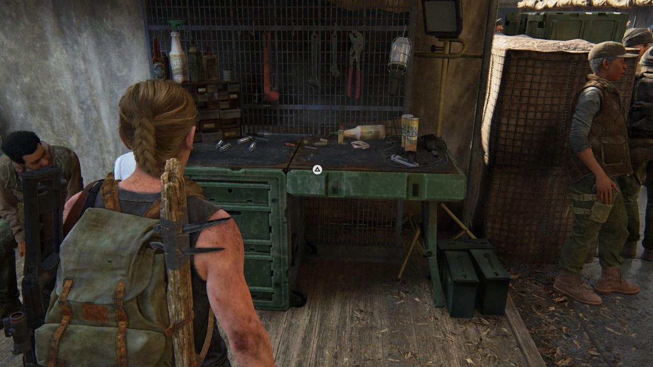 The Last of Us 2 Fundort Werkbänke