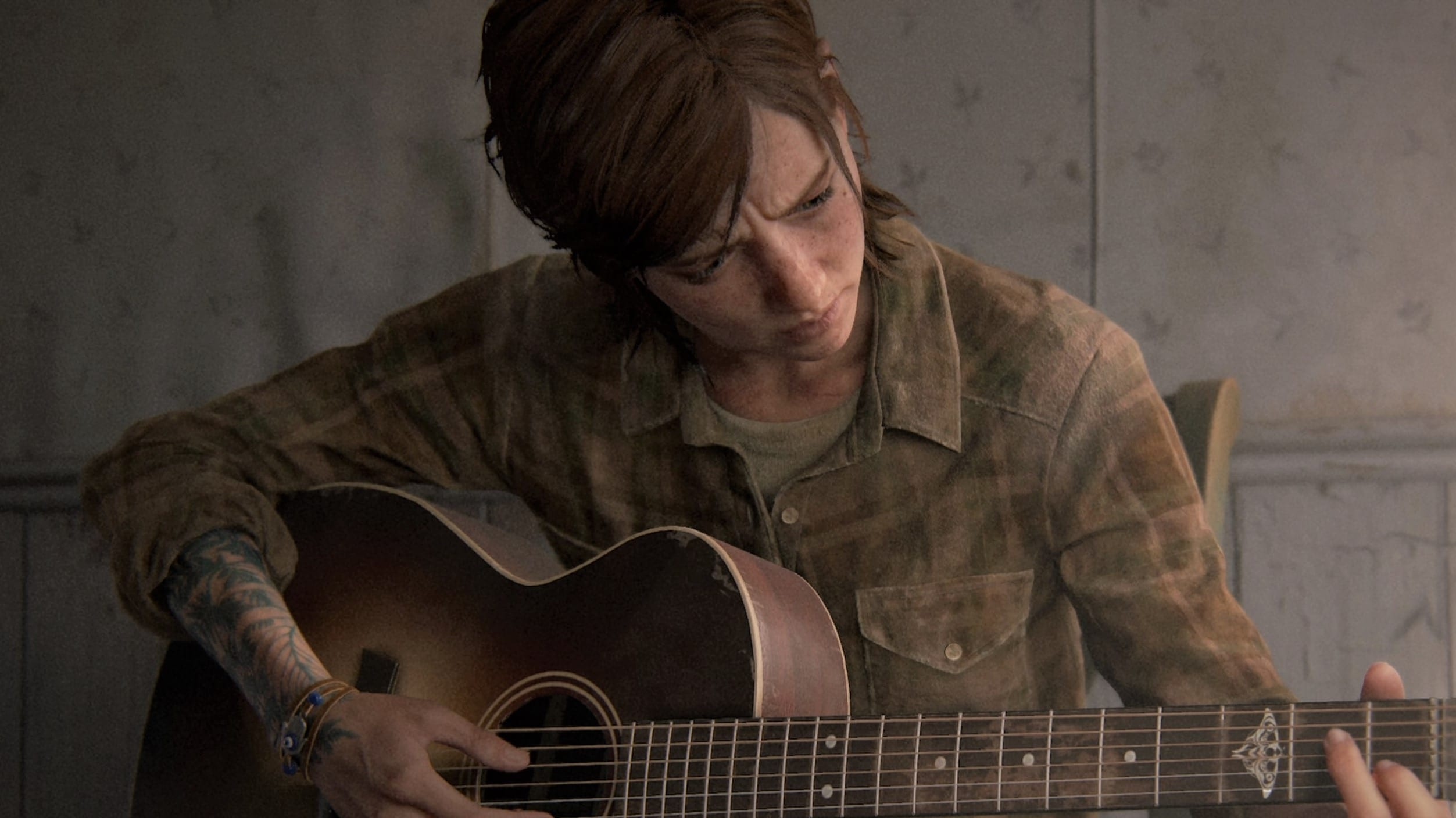 The Last of Us 2 Ellie Ende Gitarre