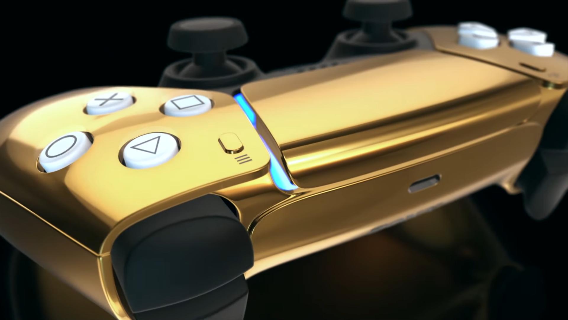 DualSense PS5 - Gold