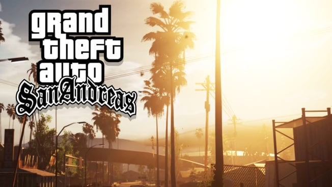 GTA San Andreas - Unreal Engine 4