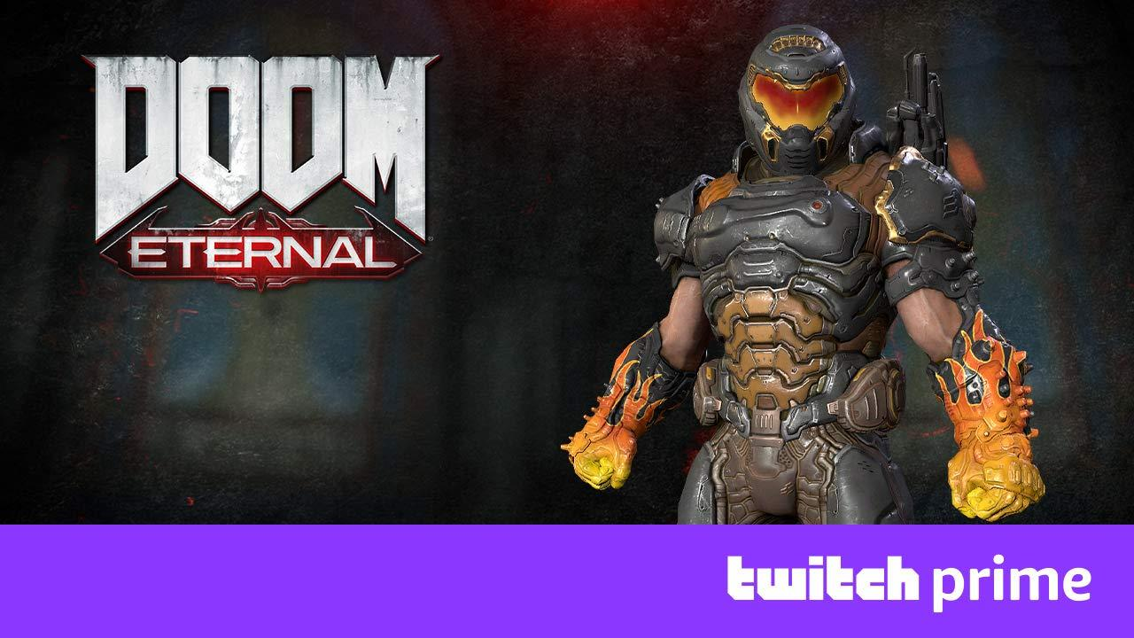 Twitch Prime DOOM Eternal