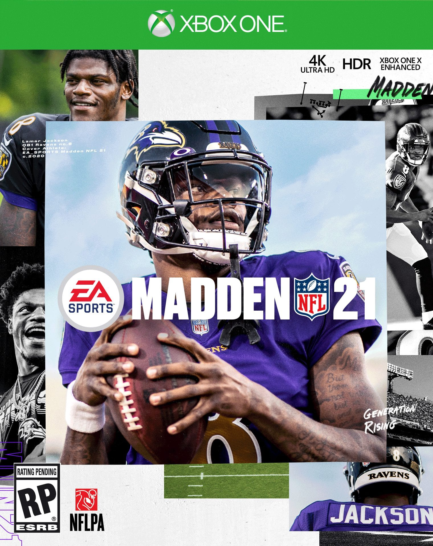 Madden 21 - Cover