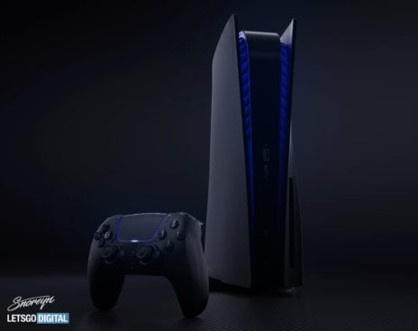 PlayStation 5 in Schwarz