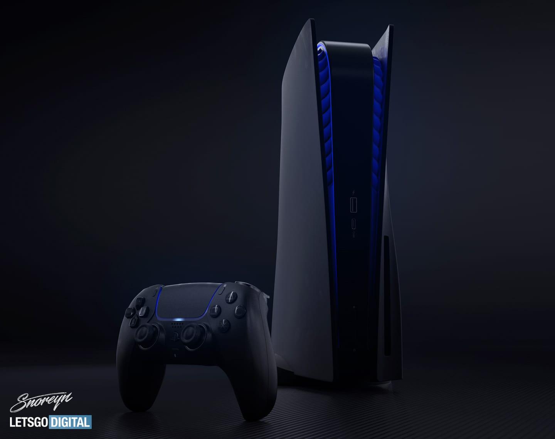 PlayStation 5 in Schwarz