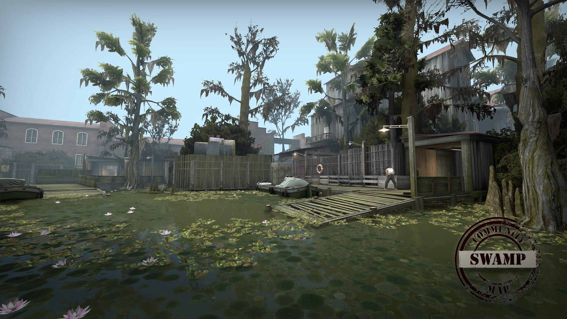 CS:GO Swamp Mid