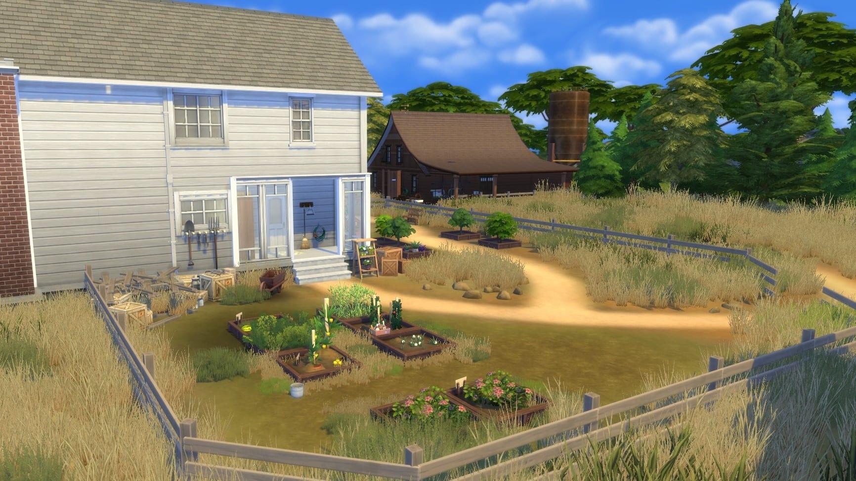 The Last of Us 2 Die Farm Sims 4