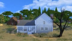The Last of Us 2 Farmhaus in Die Sims 4