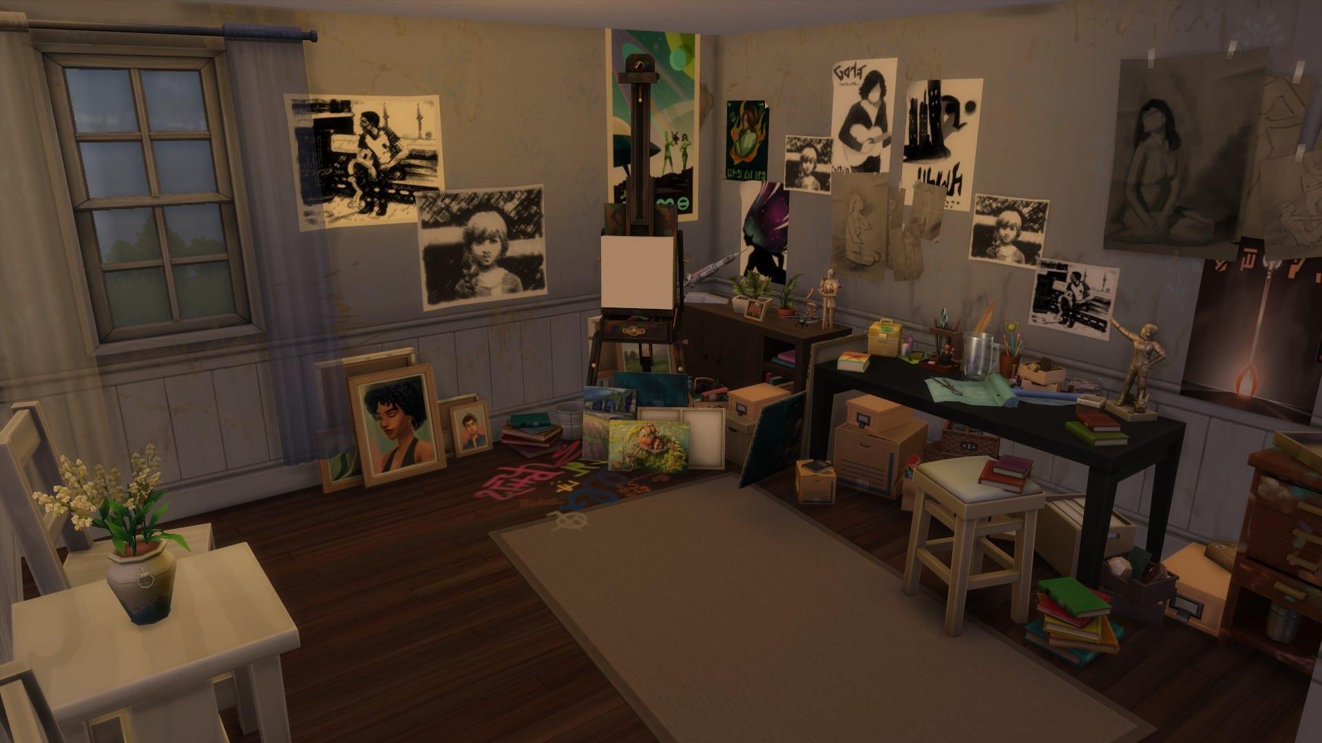 The Last of Us 2 Die Sims 4 Ellie Zimmer