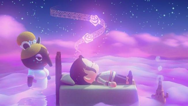 Schlummern in Animal Crossing: New Horizons