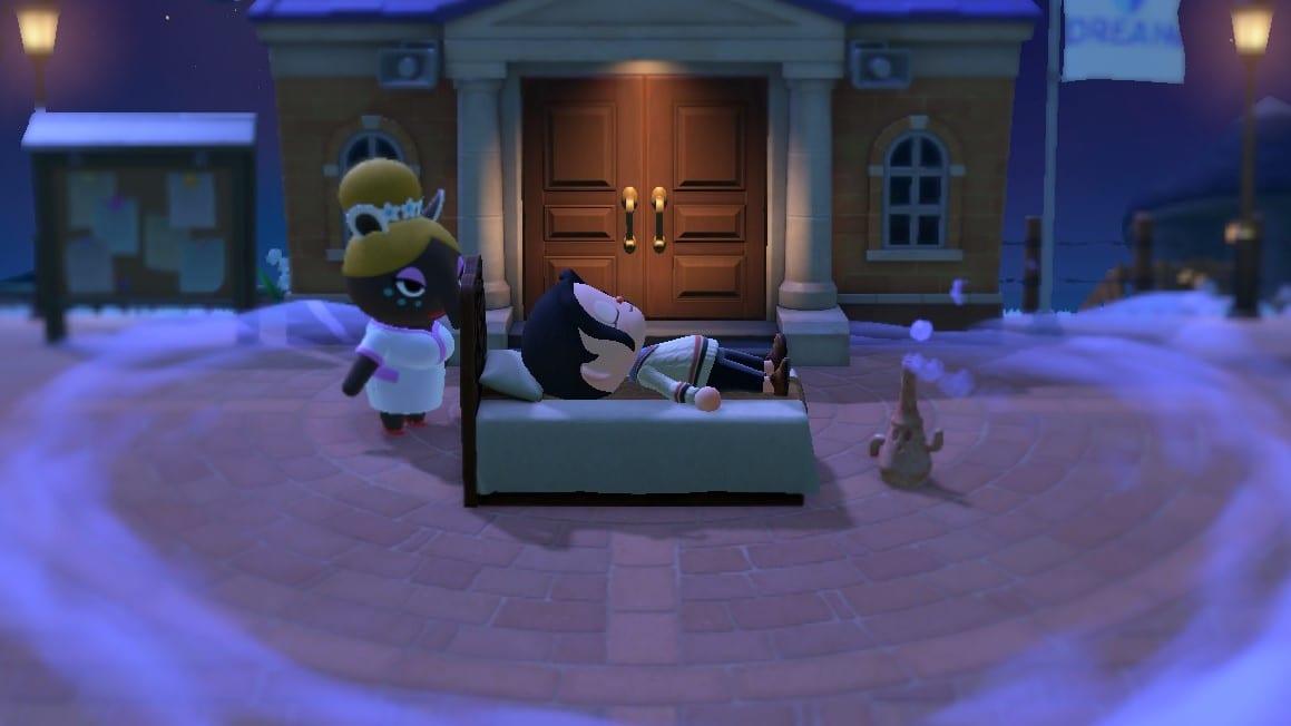 Träumen in Animal Crossing: New Horizons
