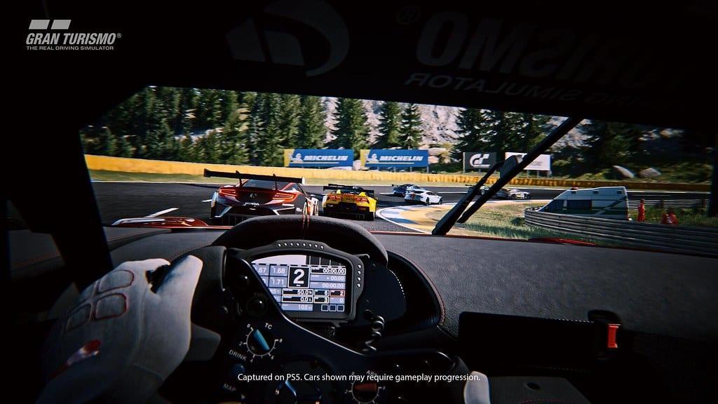 DualSense-Controller bei Gran Turismo 7