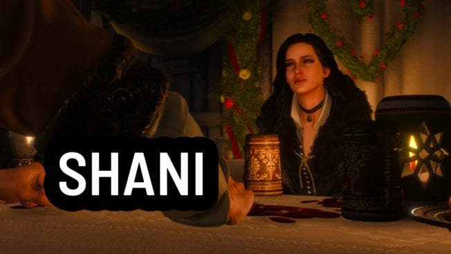 The Witcher 3 Shani Yennefer
