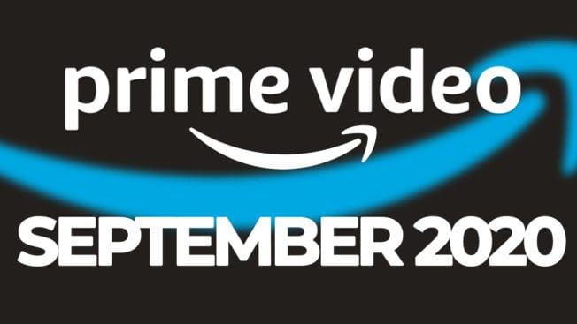 Amazon Prime September 2020 Release