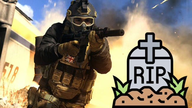 CoD Warzone Death-Chat