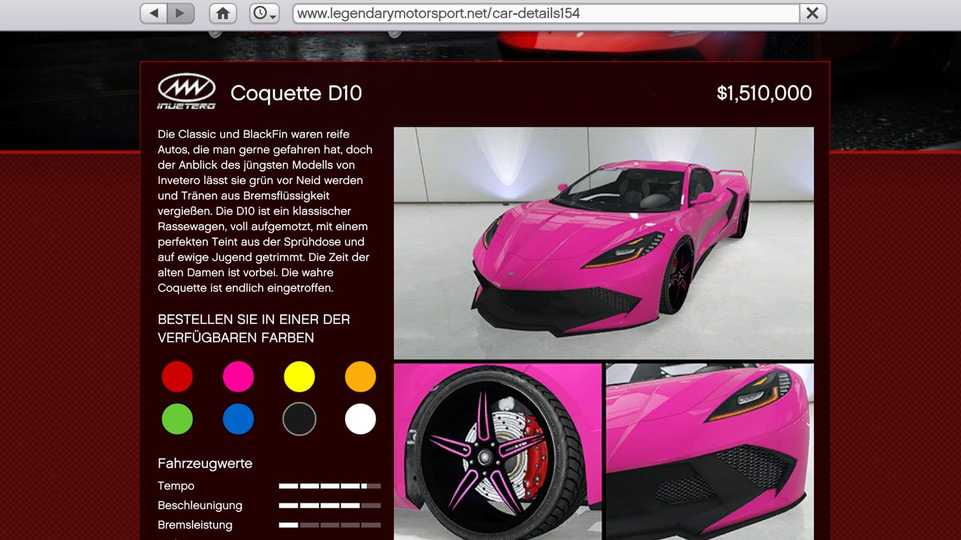 Coquette - GTA Online