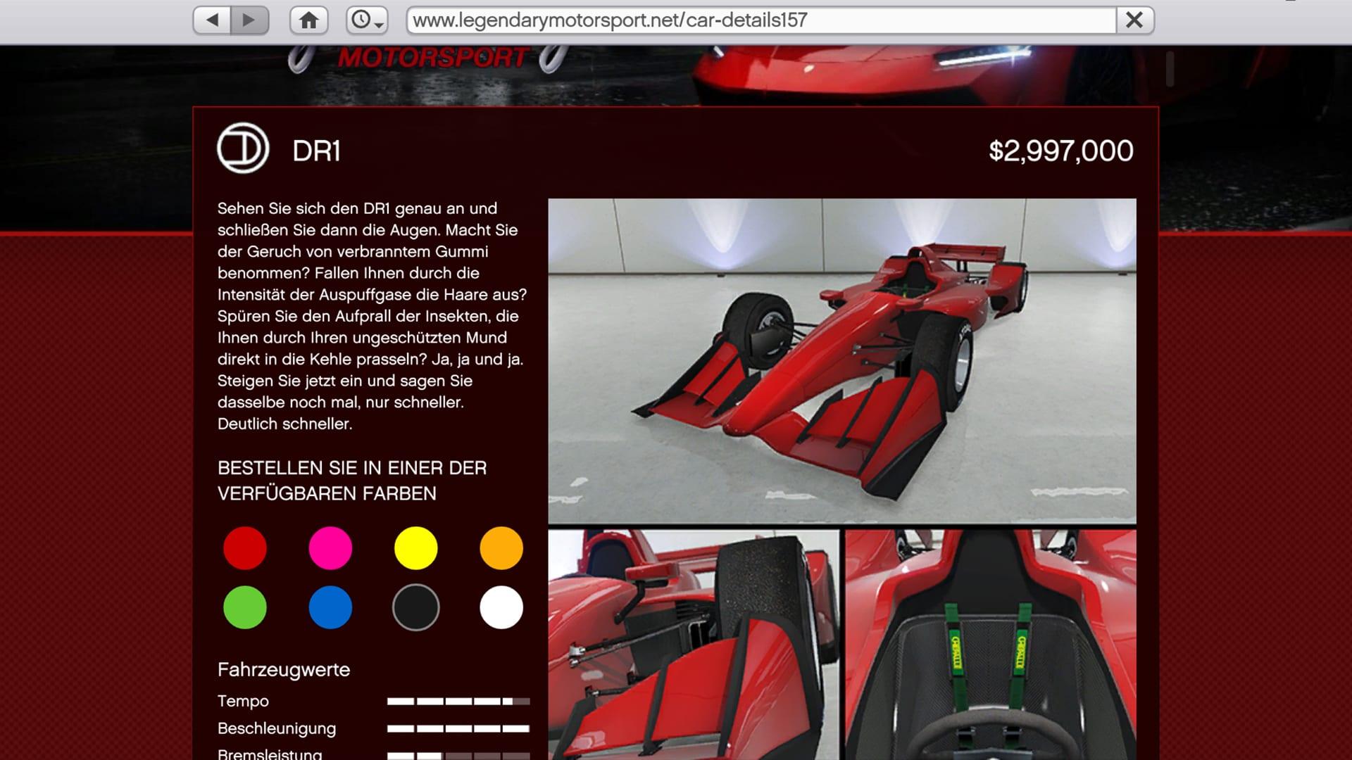 DR1 - GTA Online