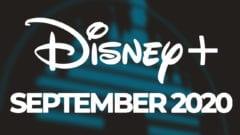 Disney Plus September Neuheiten 2020