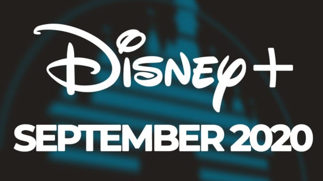 Disney Plus September Neuheiten 2020