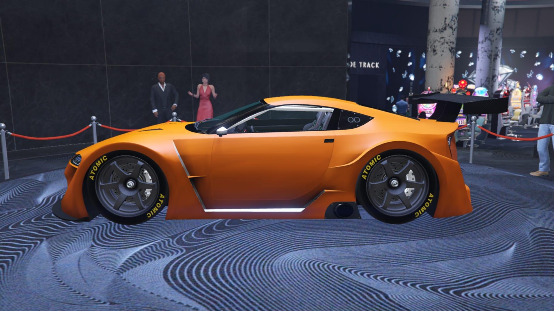 Rennwagen Emperor ETR1 - Glücksrad in GTA Online