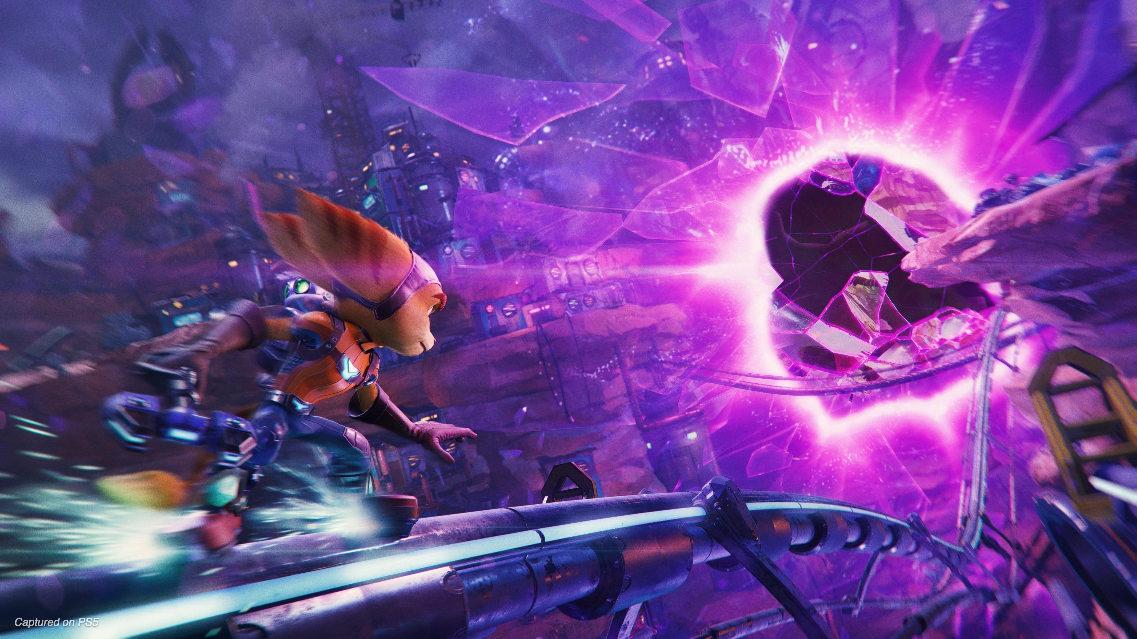 Ratchet Clank Rift Apart PS5 Gameplay Trailer