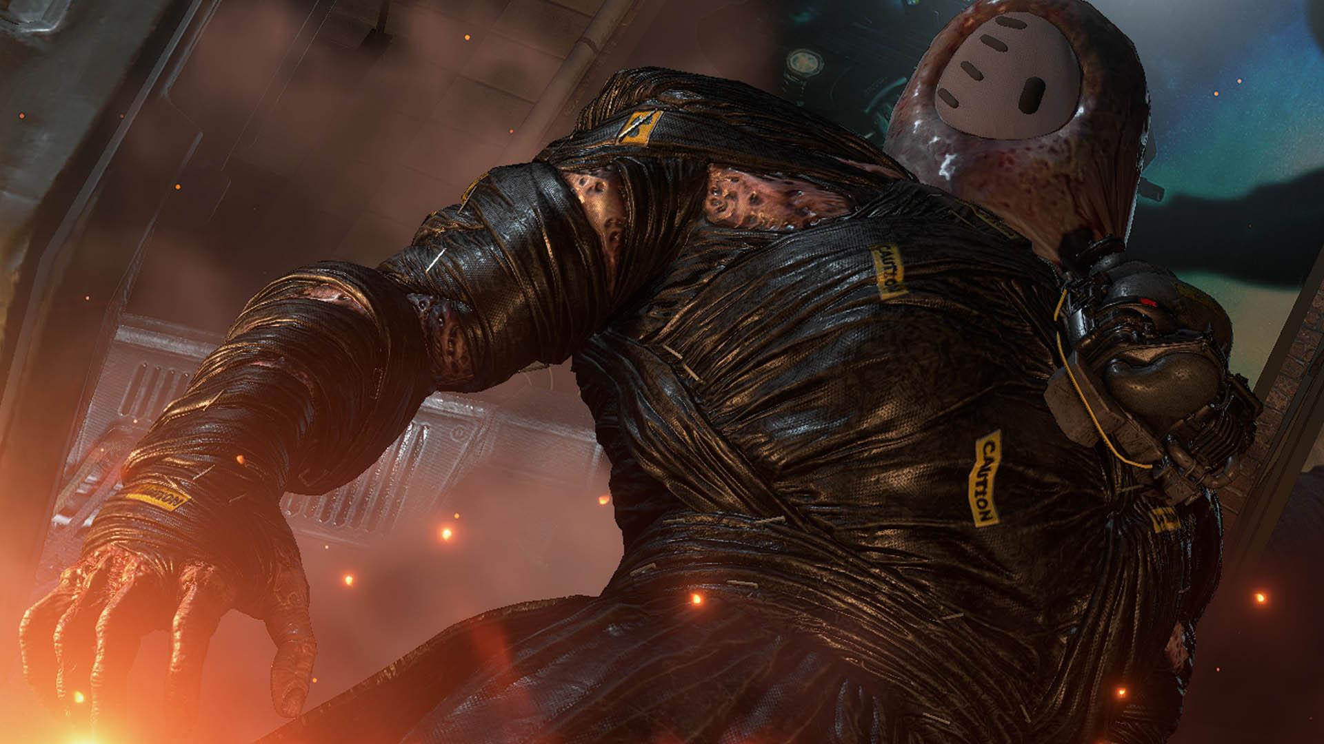 Fall Guys Resident Evil 3 Mod Nemesis