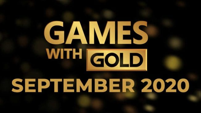 Xbox Games with Gold September 2020