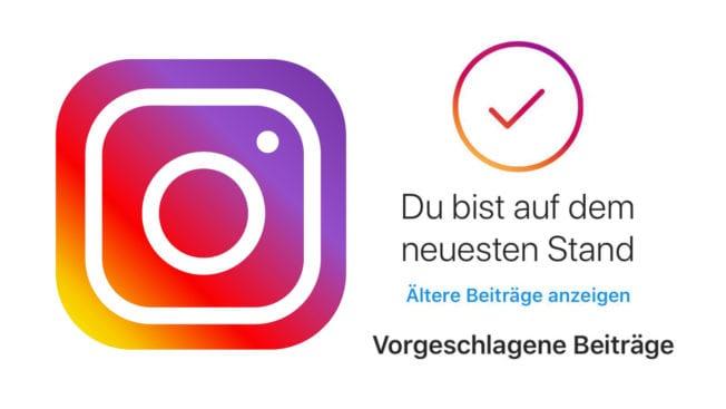 Instagram Vorgeschlagene Posts