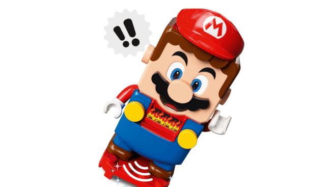LEGO Mario Prototyp Nintendo