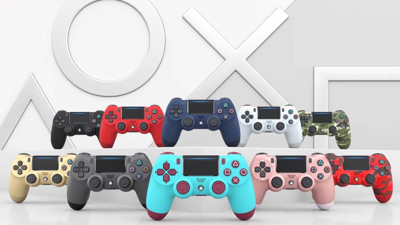 PS4 Controler Alle Farben