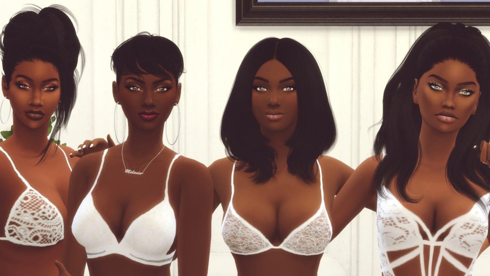 Die Sims 4 Melanin Pack Mod