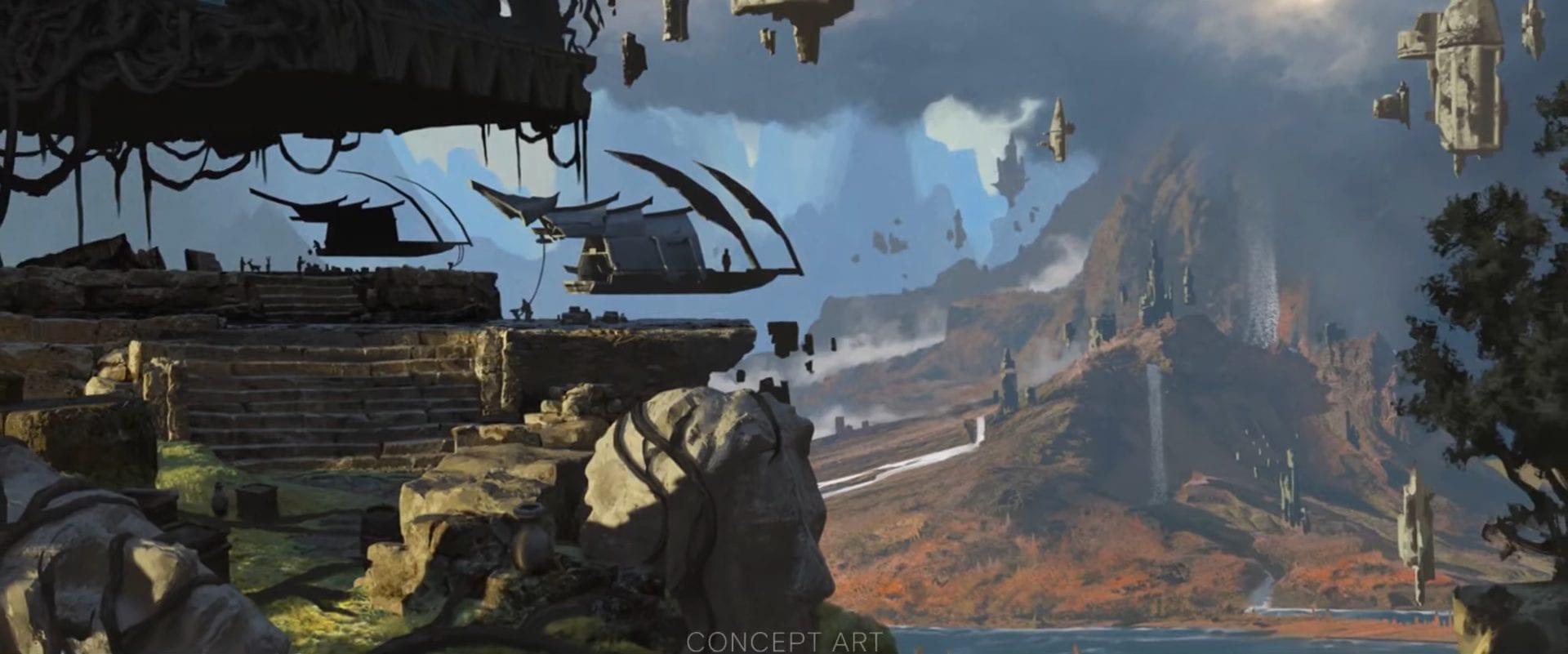 Dragon Age 4 Dread Wolf Rises Concept Art Spielwelt