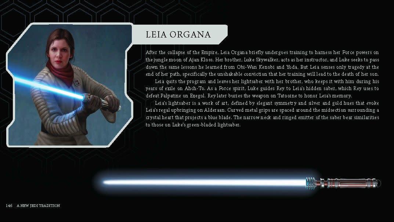 Leia Organa: Lichtschwert aus Star Wars Episode 9