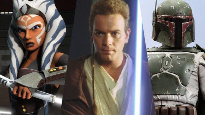 Star Wars Serien und Filme