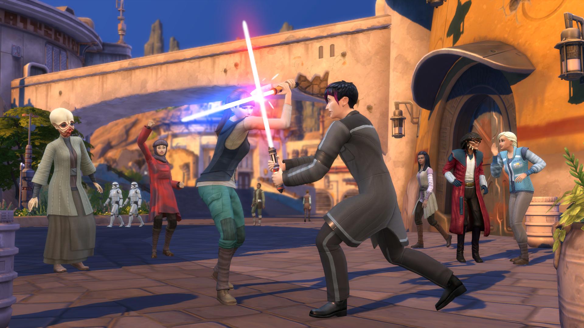 Die Sims 4 Reise nach Batuu Lichtschwert