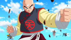Dragonball: Tenshinhan aus Dragon Ball Z