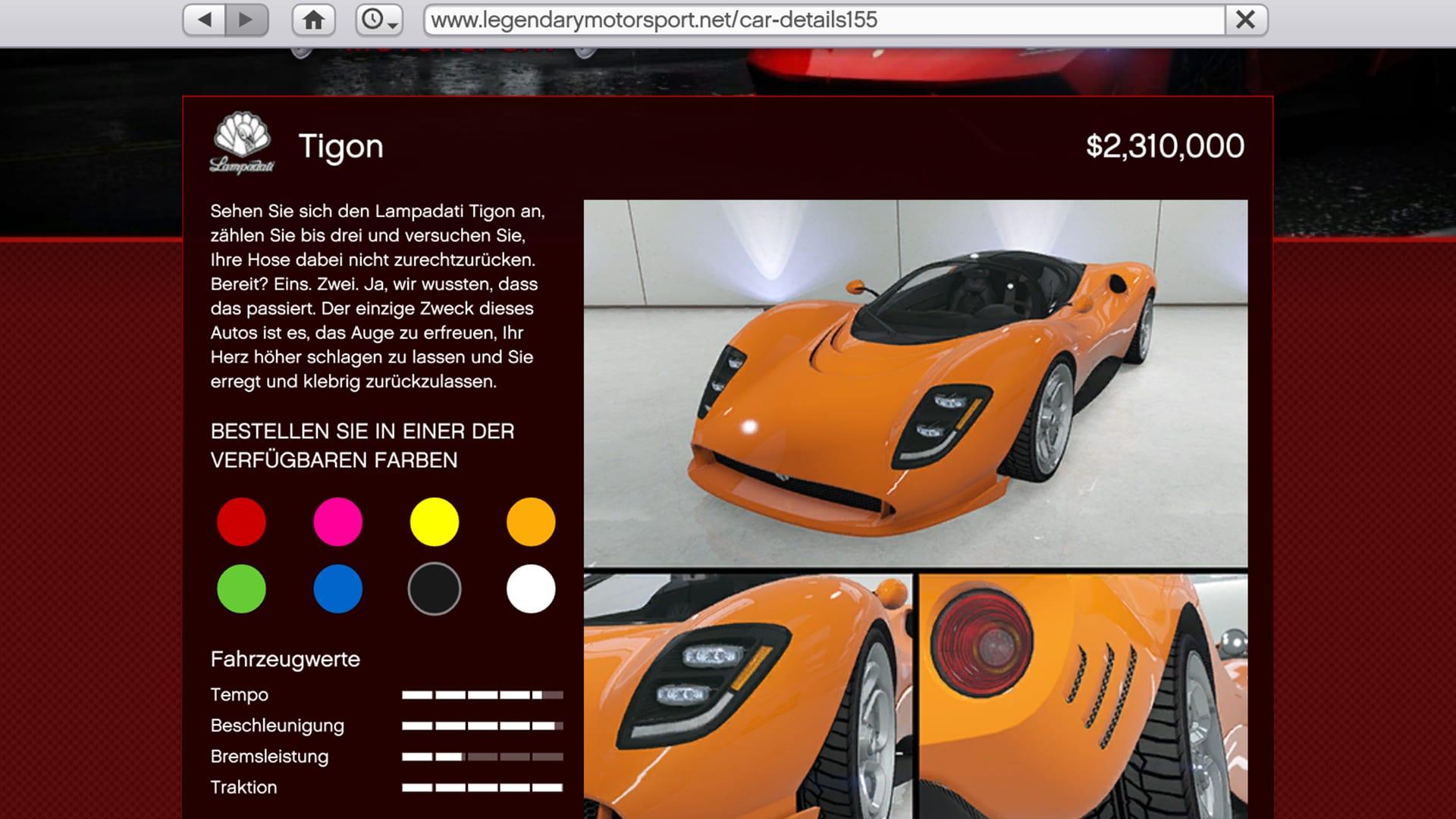 Tigon - GTA Online