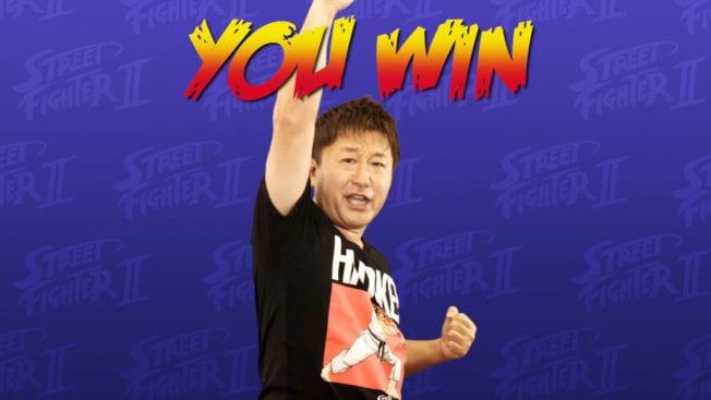 Yoshinori Ono Street Fighter