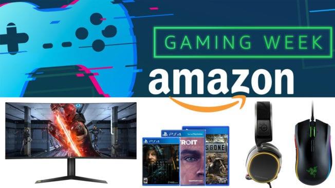 Gaming Week bei Amazon günstige Spiele Konsolen Hardware