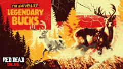 Red Dead Online - Legendäre Tiere