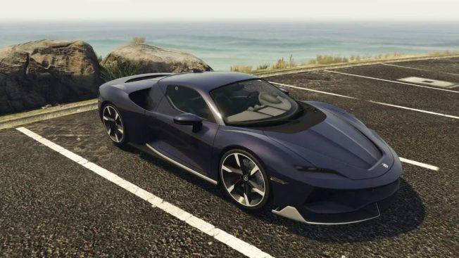 GTA 5: Grotti Itali RSX