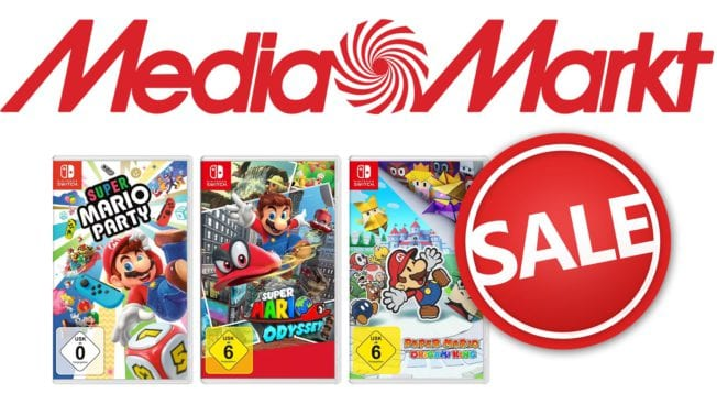 MediaMarkt Super Mario Nintendo Switch Angebot