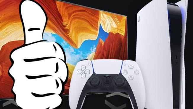 PS5 geeignete TV Geräte
