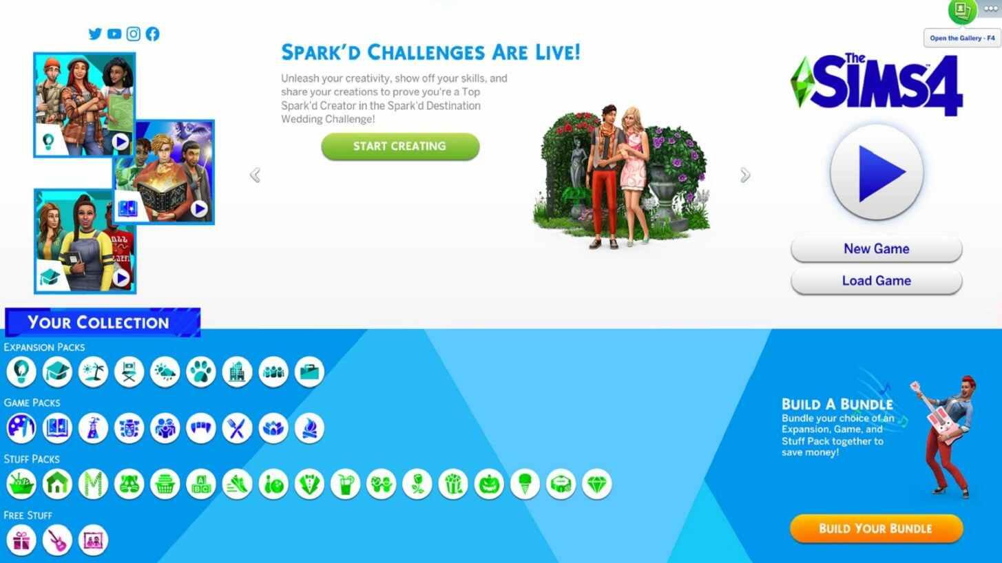 Die Sims 4 Gameplay Logo Icon