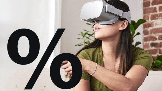 Oculus GO VR-Headset reduziert