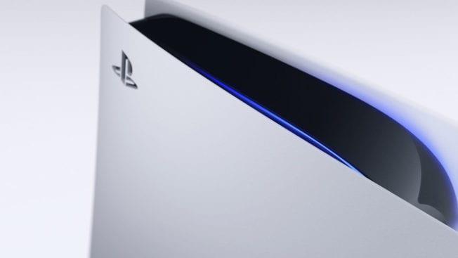 Die PS5 Aussehen Weiß Design Look