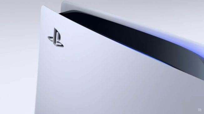 PS5-Konsole Aussehen Optik Look
