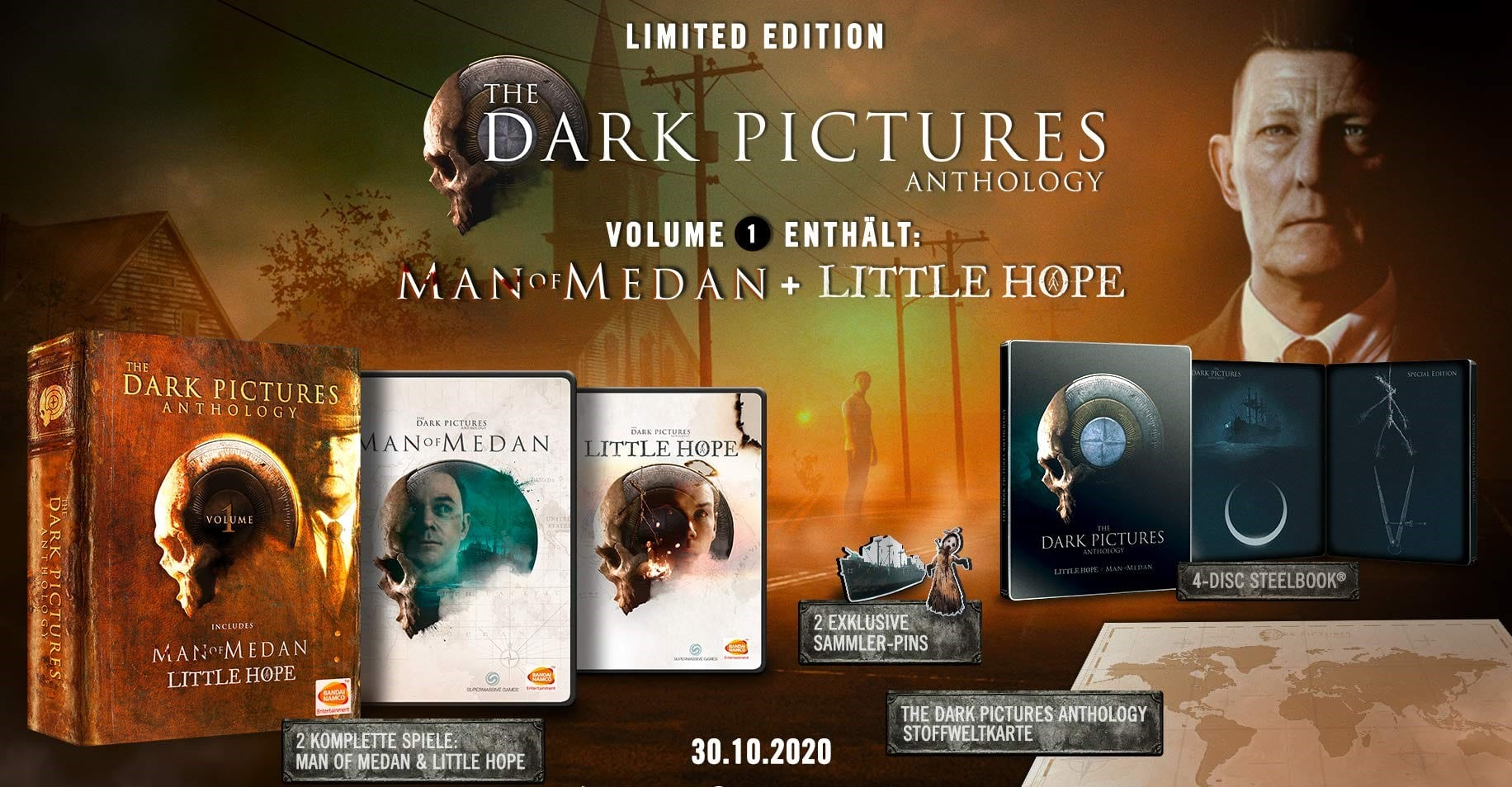 The Dark Pictures Anthology Little Hope Limited Edition